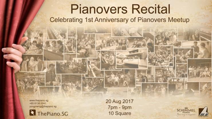 Pianovers Recital