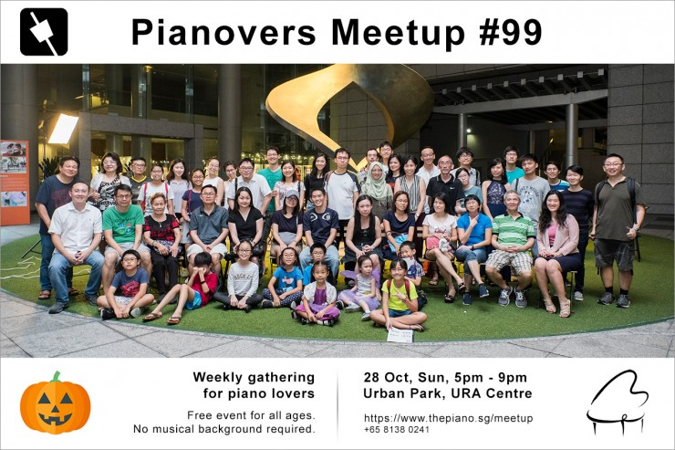 Pianovers Meetup #99 (Halloween Themed)