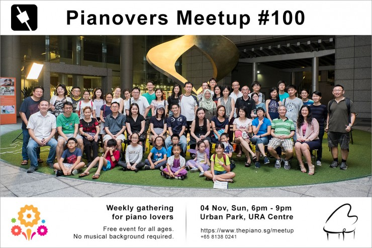 Pianovers Meetup #100 (Celebratory Themed)