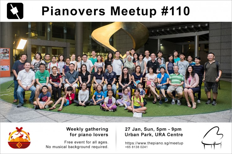 Pianovers Meetup #110 (CNY Themed)