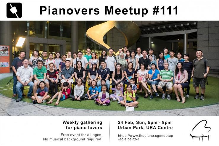 Pianovers Meetup #111