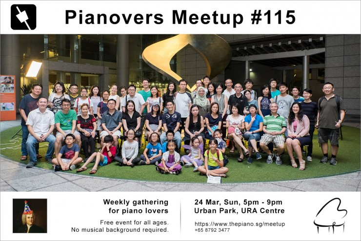Pianovers Meetup #115