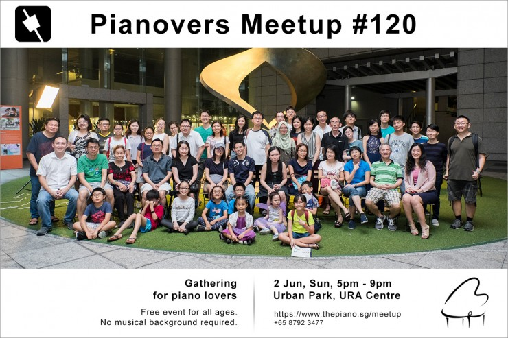 Pianovers Meetup #120