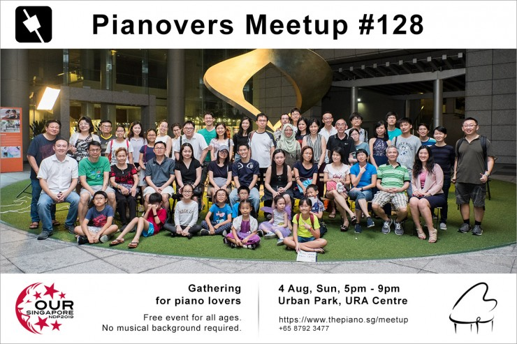 Pianovers Meetup #128 (NDP Themed)
