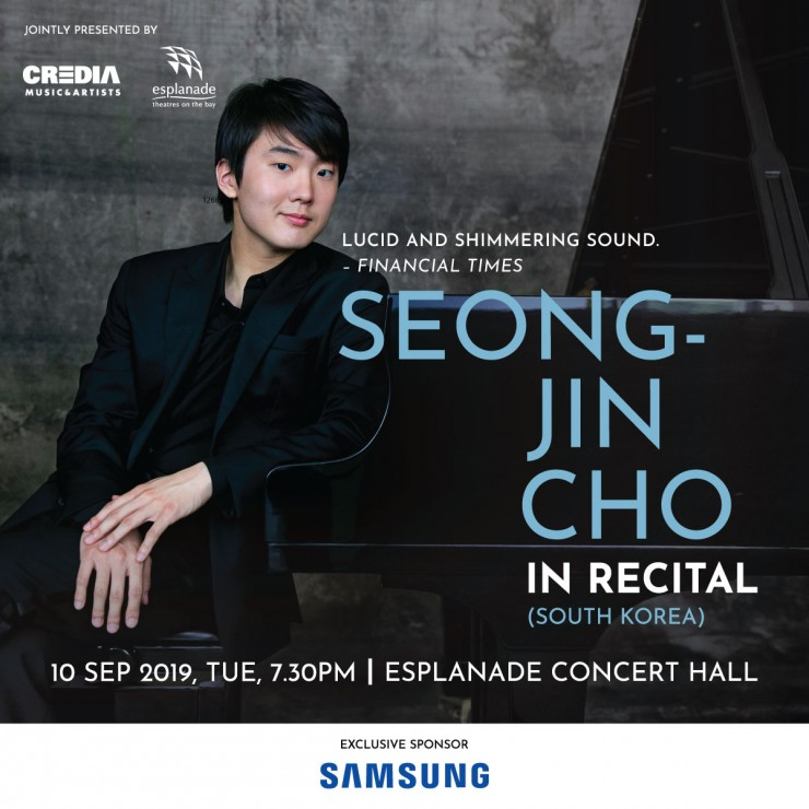 Seong-Jin Cho in Recital