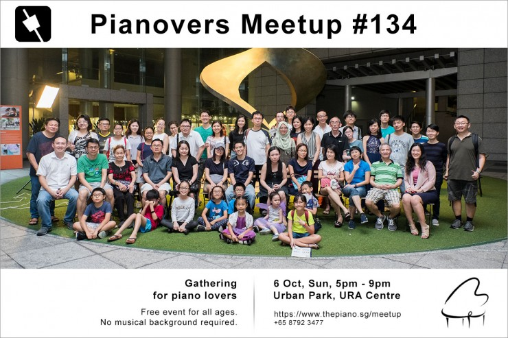 Pianovers Meetup #134