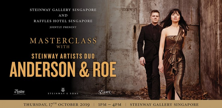 Masterclass with Steinway Artists Duo, Anderson & Roe