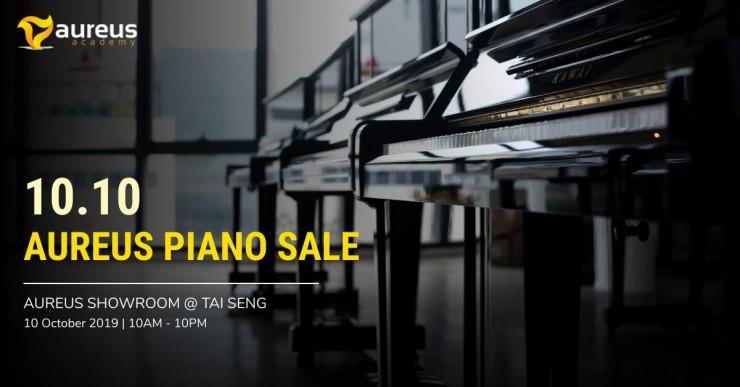 10.10 Aureus Piano Sale