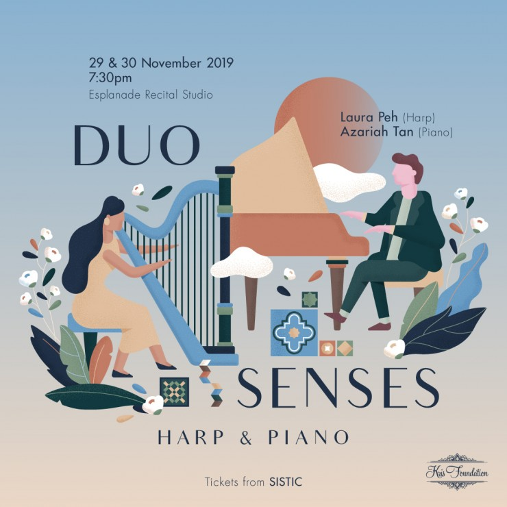 Duo Senses: Harp and Piano