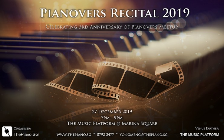 Pianovers Recital 2019
