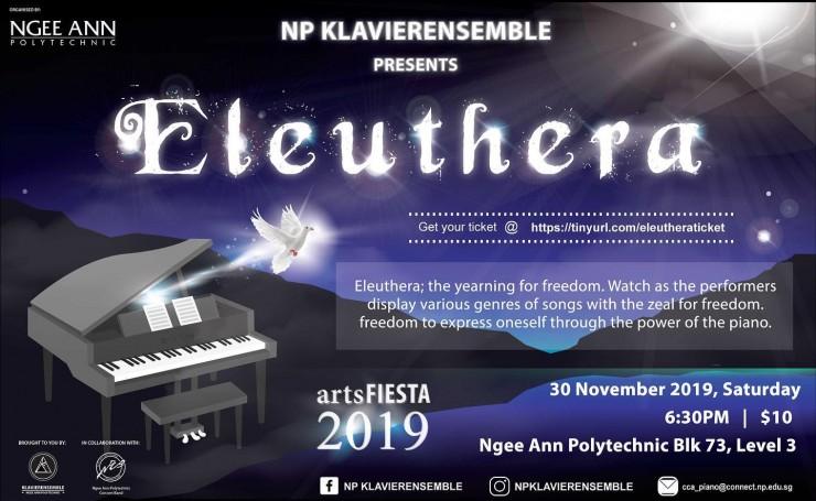 Eleuthera by Ngee Ann Polytechnic Klavierensemble