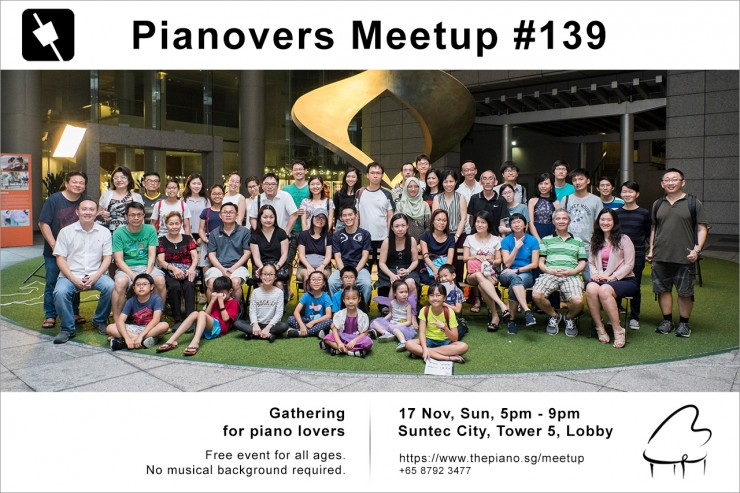 Pianovers Meetup #139