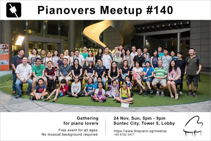 Pianovers Meetup #140