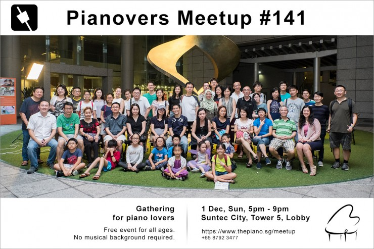 Pianovers Meetup #141
