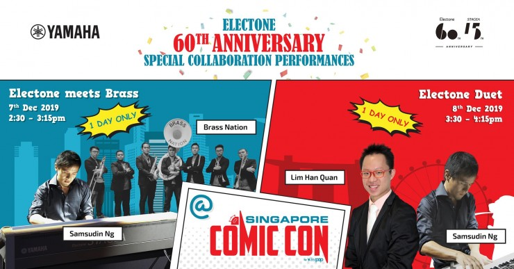 Electone's 60th Anniversary Special Collaboration Performances