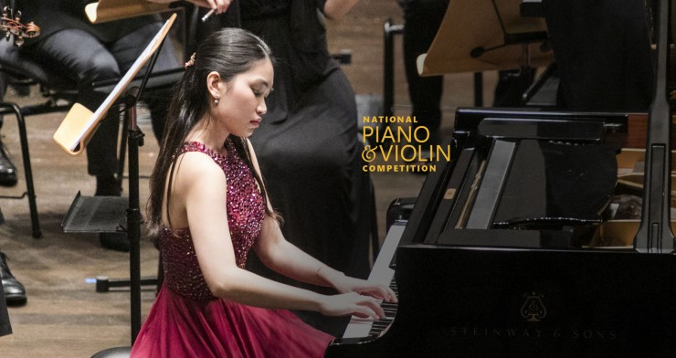 National Piano & Violin Competition 2019: Prize Winners' Concert