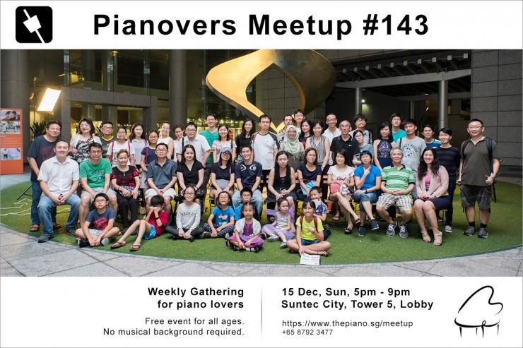 Pianovers Meetup #143