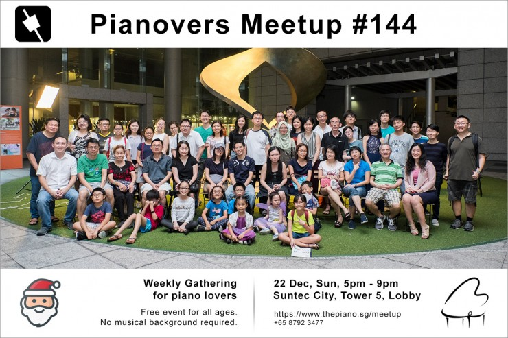 Pianovers Meetup #144 (Christmas Themed)