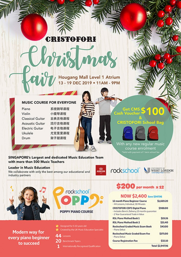 Hougang Christmas Fair