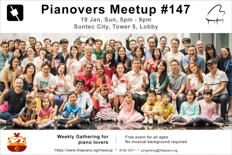 Pianovers Meetup #147 (CNY Themed)