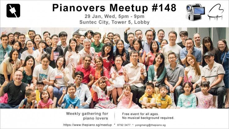 Pianovers Meetup #148 (Special)