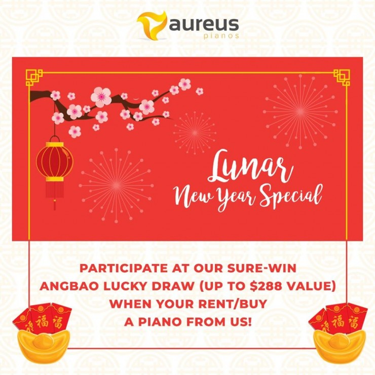 Aureus Pianos CNY Promotion 2020