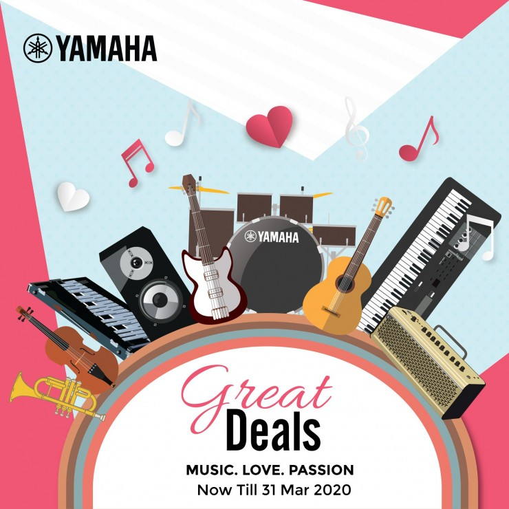 Yamaha Great Deals 2020