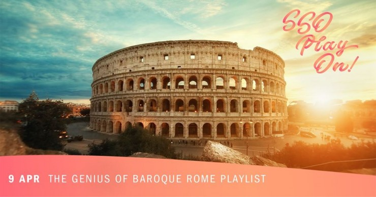 SSOPlayOn! The Genius of Baroque Rome (Spotify Playlist)