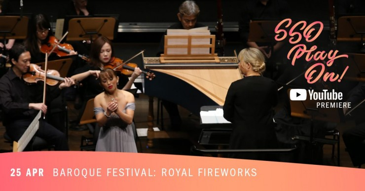 YouTube Premiere: Baroque Festival II - Royal Fireworks