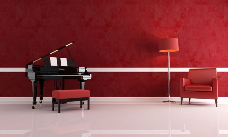 Grand Piano in a Room