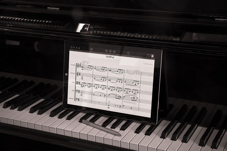 StaffPad App and Microsoft Surface - Write music digitally in the ...