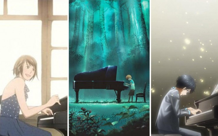 Piano Themed Japanese Anime Can Be Very Motivating