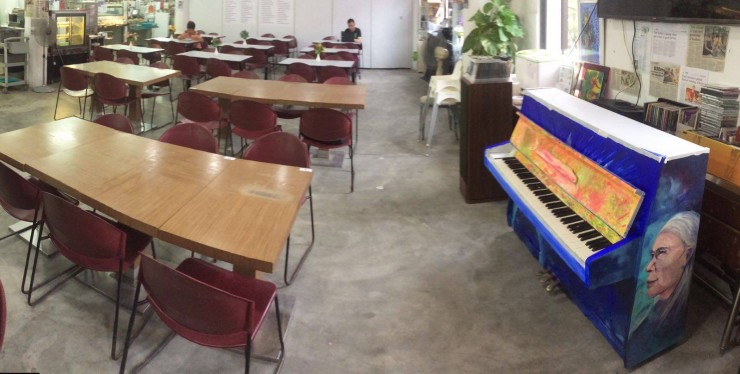 Dignity Kitchen gets a piano through its partnership with Play Me, I'm Yours Singapore