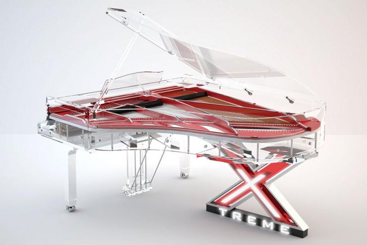 Blüthner Lucid Pianos, Transparent Piano, Elegance Corporate