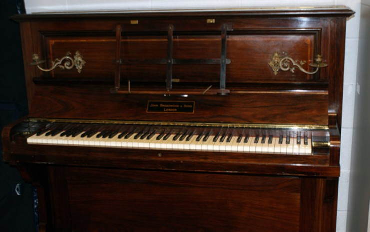 antique Broadwood and Sons piano