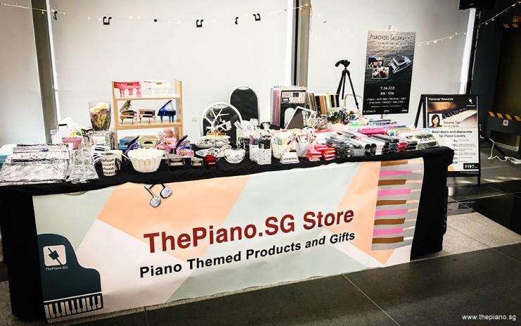 ThePiano.SG Pop-Up Stall @ Suntec