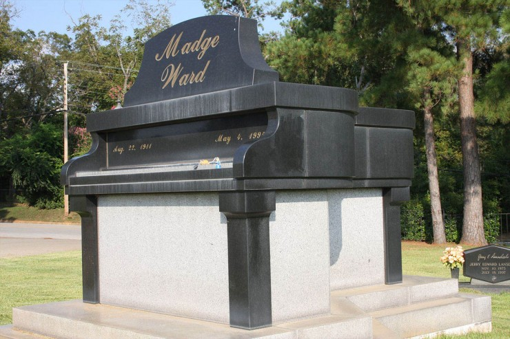 Madge Ward Piano Mausoleum