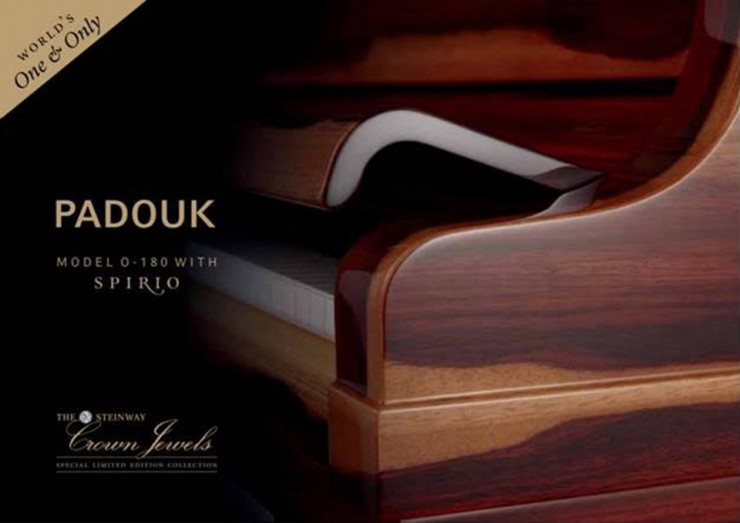 Padouk | Steinway Special Collector's Edition Crown Jewel