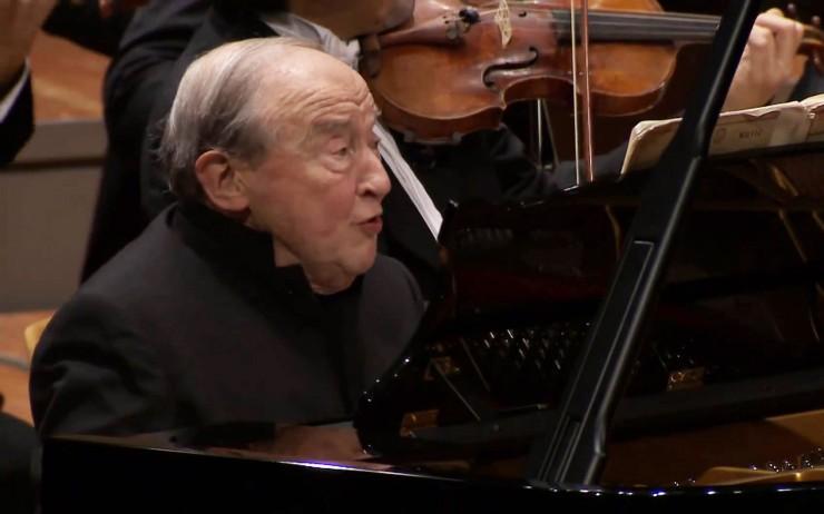 Menahem Pressler Gave His Solo Piano Concert At 90