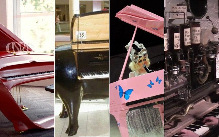Pianos That Are Out Of The Ordinary