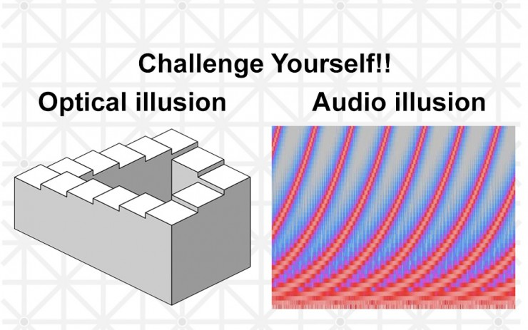 Auditory Illusion! Shepard Tone, A Tone That Goes Up Or ...  Auditory Illusi...