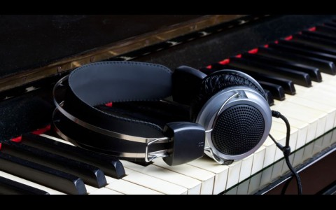 Piano With Headphones