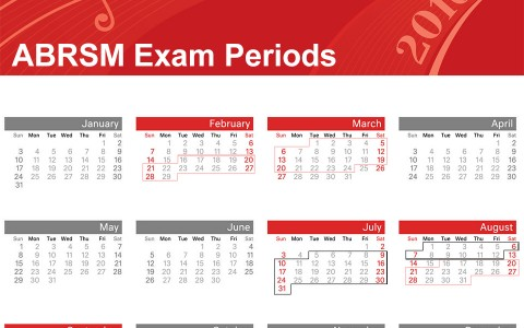 Change In ABRSM Piano Practical Exams Schedule And Dates From 2016
