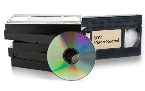 Convert Old VHS Tapes to Digital Content