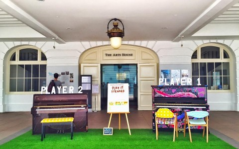 Play It Forward - SG Pianos at Arts House