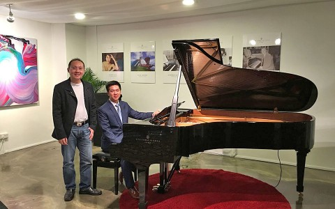 An Interview With Young Steinway Artist, Congyu Wang, At The Launch Of His New Cd Release, Charme
