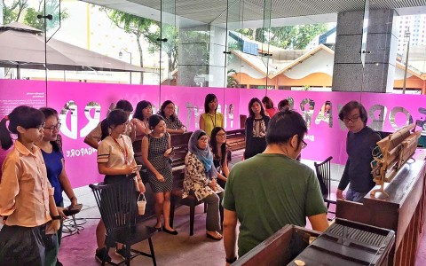 Play It Forward Singapore Presents Open Studio Friday at the URA Centre