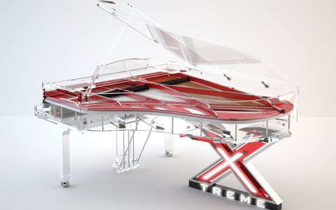 Blüthner Lucid Pianos, Transparent Piano, Elegance Corporate