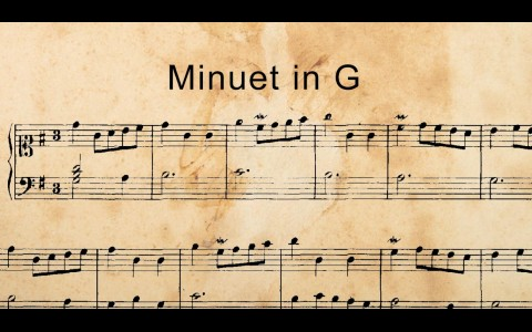 Minuet in G isn't composed by J.S. Bach
