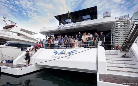 Pianovers Sailaway: ThePiano.SG's inaugural yacht event